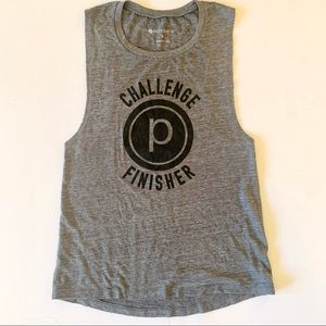 Pure Barre Tank Top Muscle Tank Challenge Finisher